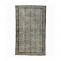 Vintage recoloured rug color gray (169x280cm)
