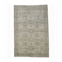 Vintage recoloured rug color beige (197x295cm)