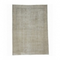 Vintage recoloured rug color beige (205x294cm)