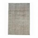 Vintage recoloured rug color beige (197x290cm)