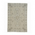 Vintage recoloured rug color beige (179x265cm)