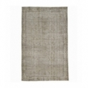 Vintage recoloured rug color beige (171x278cm)