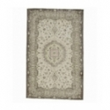 Vintage recoloured rug color beige (165x261cm)