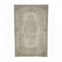 Vintage recoloured rug color beige (175x280cm)