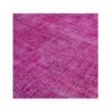 Vintage recoloured rug color pink (186x320cm)