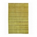 Vintage recoloured rug color yellow (170x275cm)