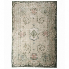 Vintage recoloured carpets kleur whitewash (205x310cm)