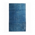 Vintage recoloured rug color turquoise (190x320cm)