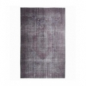 Vintage recoloured rug color grey (200x310cm)