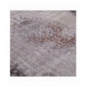 Vintage recoloured rug color grey (177x304cm)
