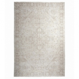 Vintage recoloured carpets kleur whitewash (219x330cm)