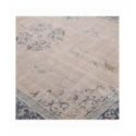Vintage recoloured rug color pink (205x300cm)