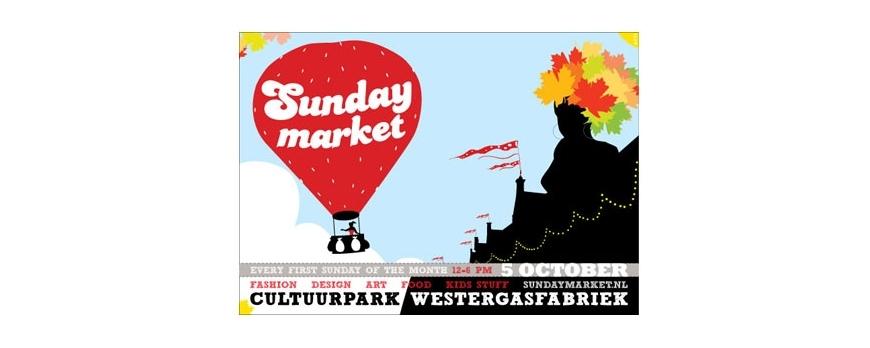 Sunday Market op 5 oktober bij de Westergasfabriek